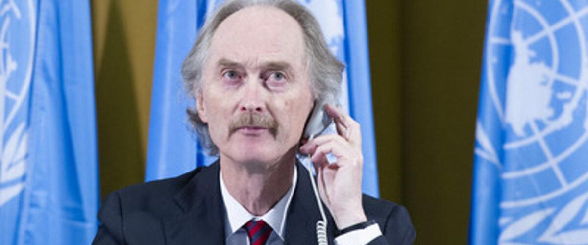 Special Envoy for Syria Mr. Geir O. Pedersen