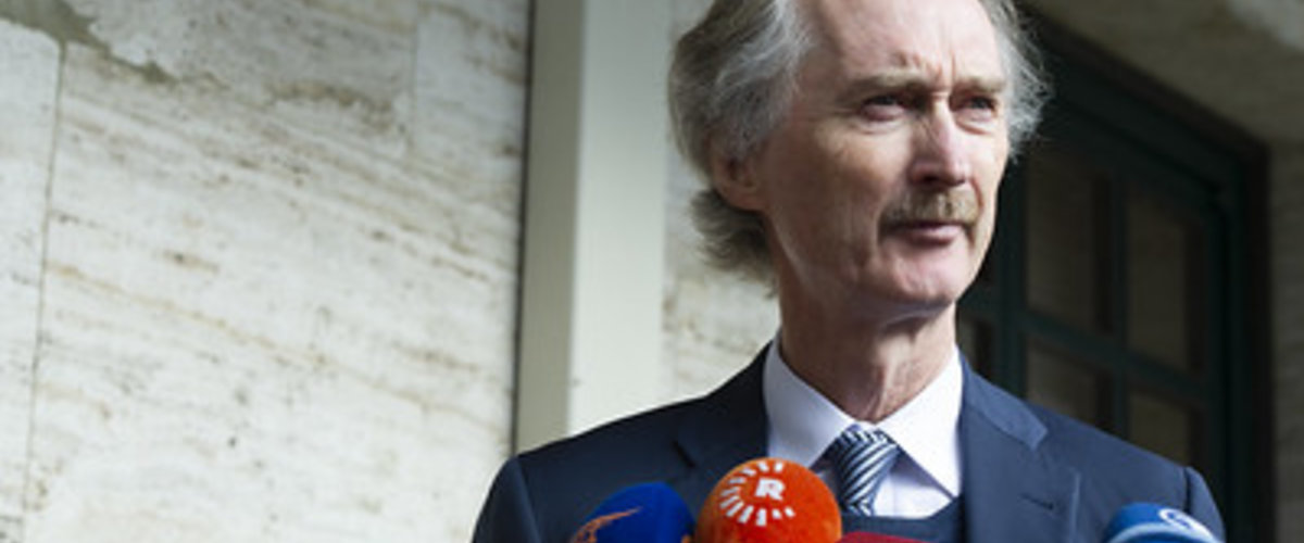 United Nations Special Envoy for Syria Mr. Geir O. Pedersen Briefs the Press