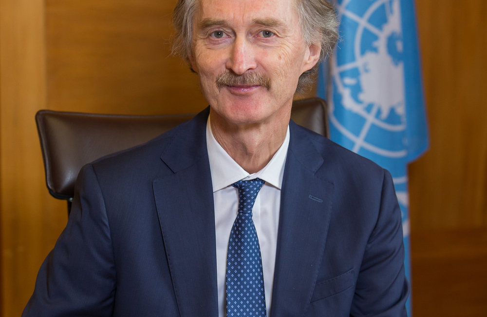 United Nations Special Envoy to Syria Geir O. Pedersen. Geneva, 8 January 2019. UN Photo / Pierre Albouy