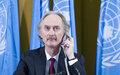 نص التصريحات التي أدلى بها مبعوث الأمم المتحدة الخاص إلى سوريا، السيد جير أو بيدرسن، لاحقا لاختتام الجلسة الخامسة للهيئة المصغرة للجنة الدستورية السورية