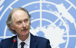 Statement Attributable to the United Nations Special Envoy for Syria on the Anniversary of the Syrian Conflict